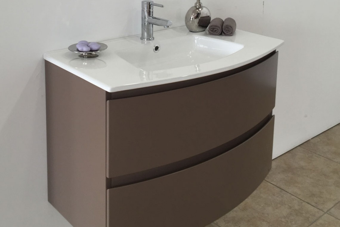Meuble suspendu galb simple vasque bonalife newport blanc dimension carrelage - Meuble salle de bain chocolat ...