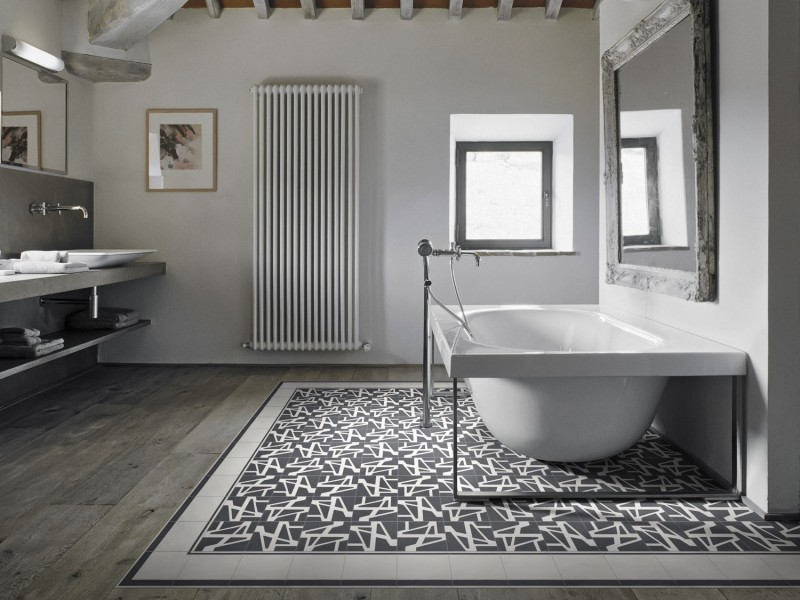 Carrelage dallage et mosaique dimension carrelage for Salle de bain avec carreaux de ciment