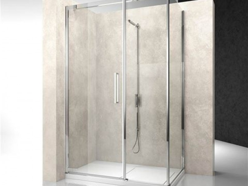 Nouvelle cabine de douche dimension carrelage for Cabine de douche sans porte